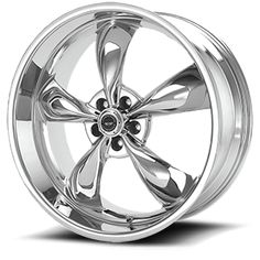 American Racing Torq Thrust wheels in chrome finish.