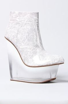 (CLICK IMAGE TWICE FOR UPDATED PRICING AND INFO)  Jeffrey Campbell The Icy Shoe in White   See More Womens High Heel Shoes and Pumps  at http://www.zbuys.com/level.php?node=6406=womens-high-heel-shoes-and-pumps