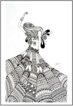 #art #illustration #fashion