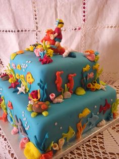 O bolo do mar