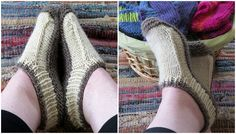 One Two Three Slippers - Pretty Ideas One Two Three, Tough Day, Comfortable Outfits, Third, Slippers, Knitting, Pretty, Ideas, Fashion