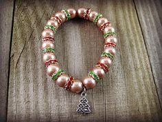 Hey, I found this really awesome Etsy listing at https://www.etsy.com/listing/209338842/christmas-rhinestone-bracelet-christmas