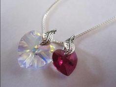 Tutorial: Swarovski Crystal Heart Necklace (+ coupon code!)