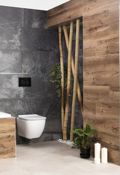 Bathroom Design Luxury, Modern Bathroom Decor, Modern Bathroom Design, Bathroom Styling, Kitchen Decor, Bad Wand, Bad Styling, Natural Bathroom, Toilet Design