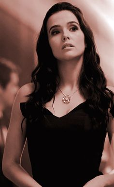 """Rose unknowingly wearing a lust charmed necklace.  """"Sweet Sassy Molassy."""" I about died of laughter when she said that to Dimitri. :'D"""