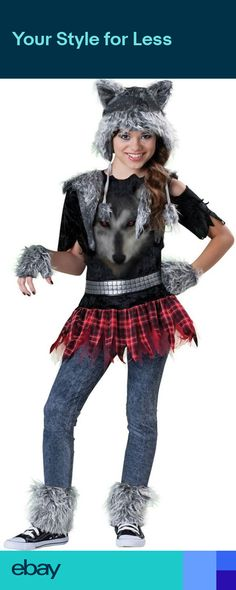 6961ec66fd Buy costumes online like the Wear Wolf Tween Girl s Costume from  Australia s leading costume shop.