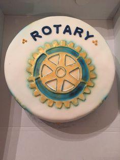 Motivtorte Rotary