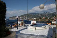 Villa Terrazza, Sorrento. Sorrento, Terrazzo, Outdoor Furniture, Outdoor Decor, Sun Lounger, Villa, Home Decor, Hammock Chair, Homemade Home Decor