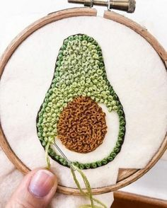 252 Likes, 0 Comments – Crochet, sewing, embroidery ( … - Stickerei Ideen Embroidery Stitches Tutorial, Creative Embroidery, Flower Embroidery Designs, Simple Embroidery, Hand Embroidery Stitches, Crewel Embroidery, Modern Embroidery, Embroidery Hoop Art, Embroidery Patterns Free