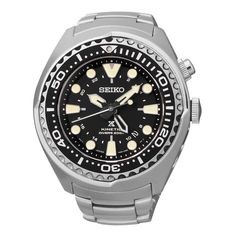 Seiko SUN019 Is A Diver's Watch That's Special Among Seiko Diver's Watches. It Has Shroud Case, Kinetic Movement, GMT Function.   Read This Seiko SUN019 Review To Know More About This Rugged Watch