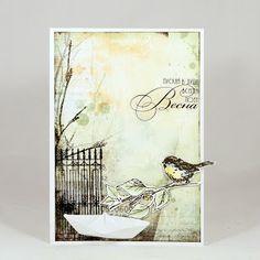Дамское счастье для сердца и разума: Весенние открытки