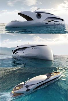 Sea Monsters are for real, well, check out this amazing Yacht
