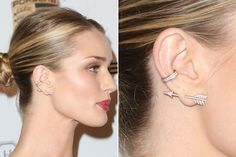 Trend to Try: Double-Sided Earrings The next new great thing for jewelry.