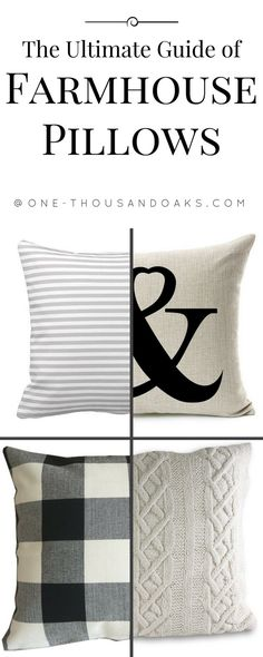 The Ultimate Guide of Farmhouse Pillows on Amazon