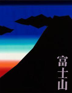 美術への確実な一歩に 新宿美術学院 芸大・美大受験総合予備校 2013年度 学生作品/デザイン・工芸科 Poster Colour, Typography Art, Illustrations And Posters, Fuji, Color Schemes, Pattern Design, Digital Art, Japan, Graphic Design
