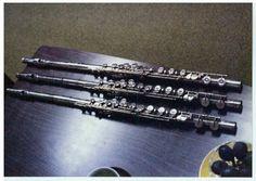 Couesnon Flute Model Monopole and Sankyo CS Model (Copy of Moyse Model)
