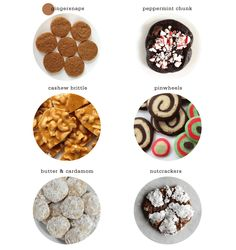 My Favorite Christmas Cookies - a round up of recipes on Freutcake