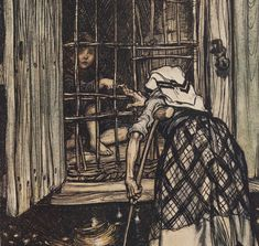 The fairy tales of the brothers Grimm / illustrated by Arthur Rackham ; translated by mrs Edgar Lucas   Gallica
