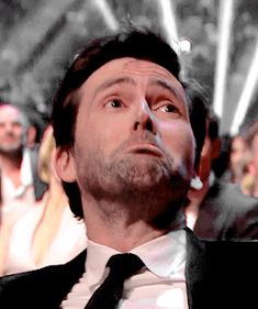 David's reaction when he saw his dad speak of how proud he was of his son. aaaawww :)
