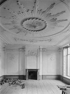 Kasteel Hoekelum interieur - 1913
