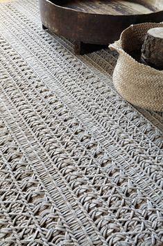 Solid-color rectangular wool rug KNOTWORK - GAN By @gandiablasco