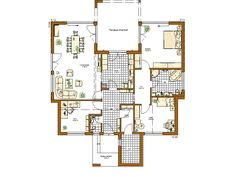 Bungalow Liberty Grundriss Erdgeschoss