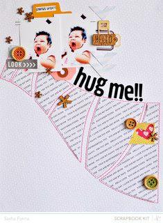 Hug Me! by Sasha at Studio Calico
