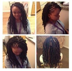 Marley twist/ cornrows