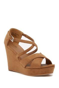441550ff22b Bria Platform Wedge Sandal Platform Wedge Sandals