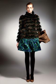 Bally Pre-Fall 2012.  Look 12 - Ophelie Rupp.