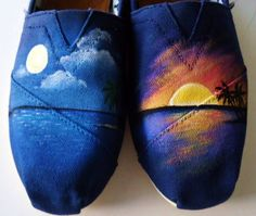 Sun and moon toms