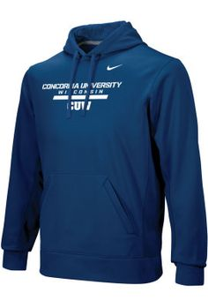 Product: Nike Concordia University Wisconsin Falcons Therma Fit Hooded Sweatshirt $70.00