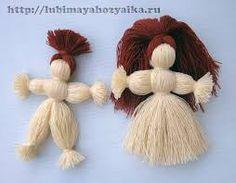 Картинки по запросу как сделать куклы своими руками