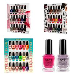 ($20) Gift Monster NYX Nail Polish Sets for the Holidays