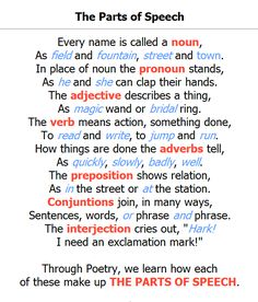 √ Free Grammar Worksheets Fourth Grade 4 Parts Speech Writing Prepositions . 3 Free Grammar Worksheets Fourth Grade 4 Parts Speech Writing Prepositions . Parts Of Speech Nouns Verbs Adjectives Worksheets Teaching Grammar, Grammar Lessons, Teaching Writing, Teaching English, Easy Grammar, Poetry Lessons, Grammar Rules, Grammar School, Grammar Worksheets
