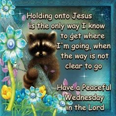 Holding Onto Jesus - Have A Peaceful Wednesday In The Lord wednesday wednesday quotes happy wednesday wednesday blessings wednesday image quotes wednesday images peaceful wednesday Blessed Wednesday, Good Morning Wednesday, Wonderful Wednesday, Good Morning Quotes, Wednesday Greetings, Happy Wednesday Pictures, Prayer Partner, Good Night Messages, Morning Prayers