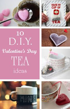 10 DIY #Valentines Day tea gift ideas