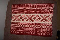 Groskro's verden: Setesdalsmønster på tovet sitteunderlag Christmas Sweaters, Knit Crochet, Jumper, Knitting, Crocheting, Crochet, Sweater, Tricot, Jumpers