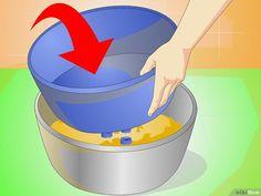 Cómo hacer macetas de cemento: 12 pasos (con fotos)
