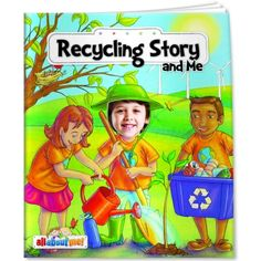 Recycling Book for Kids | USA Made