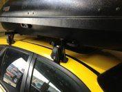2003 Mazda Protege 5 with Q System, ski rack and Rocketbox Pro 11 Mazda Protege 5, Ski Rack