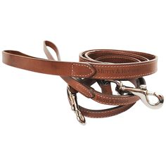 Mutts & Hounds Wide Leather Dog Lead