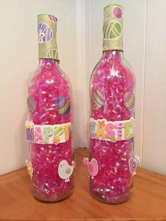 Easter Decor Easter Wine Bottles Wine by SparetimeSpecialties