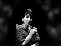 """Callas: """"D'amor sull'ali rosee"""" from """"Il Trovatore"""""""