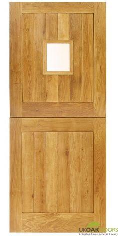 Solid Oak External Cottage Stable Door