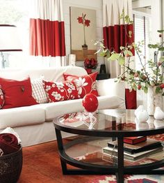 54 Best Red Accents Images Home Decor