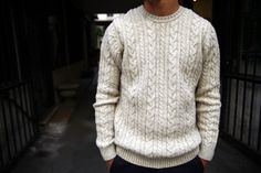 Cable knit. You've heard me extoll the virtues.