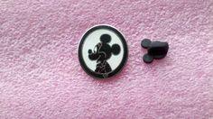 pin broche disney DLR - 2007 Mickey caché Longe - Silhouette Collection (Mickey)