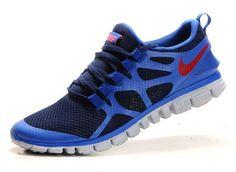 half off 177b0 03d2d Cheap Nike Free Men s Running Shoe Obsidian Royal Team Orange