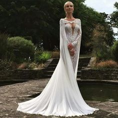 Cheap lace mermaid wedding dress, Buy Quality mermaid wedding dresses directly from China wedding dress Suppliers: vestido de noiva 2017 Vintage Jewel Neckline Appliqued Long Sleeve Sheer Back Lace Mermaid Wedding Dresses with Cap Stunning Wedding Dresses, 2016 Wedding Dresses, Bridal Dresses, Beautiful Dresses, Nice Dresses, Wedding Gowns, Dresses 2016, Beautiful Clothes, Wedding Shoes